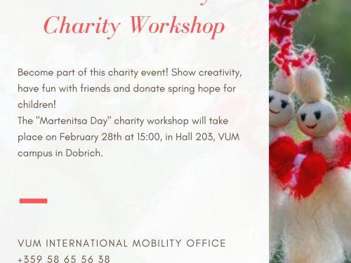 Martenitsa Day Charity Workshop