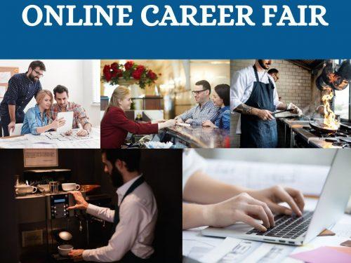 Online career fair_Poster
