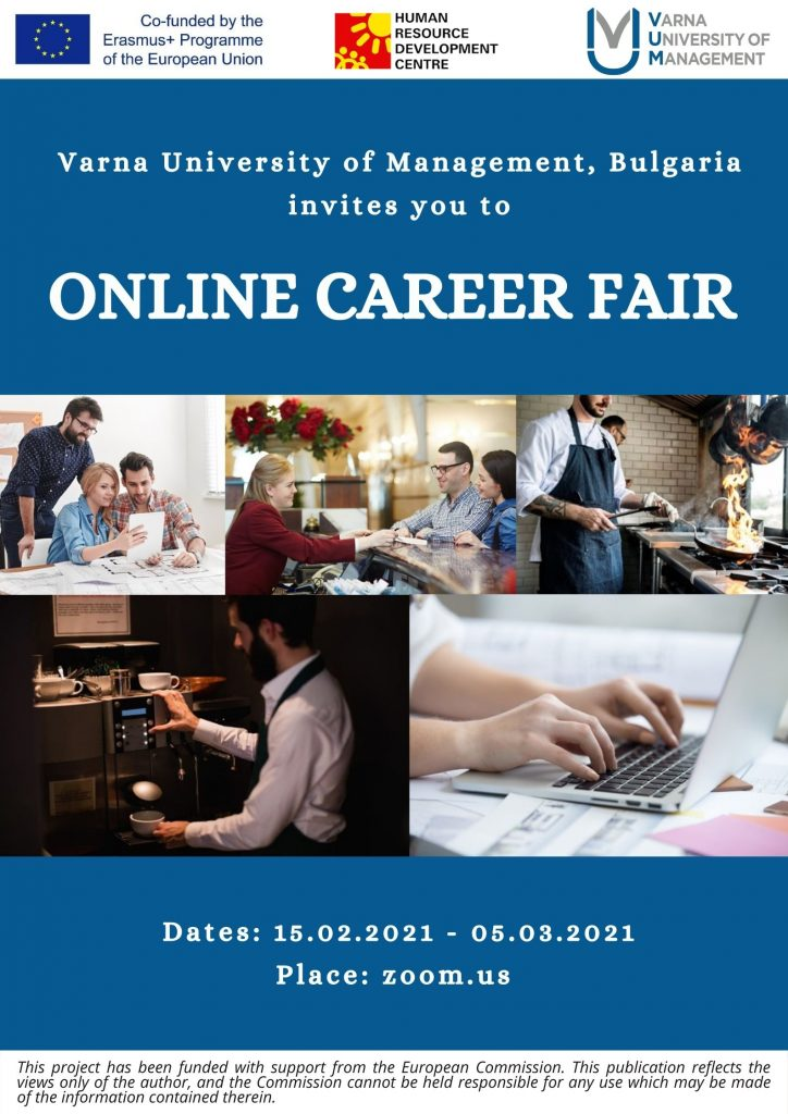 Online career fair_Poster
